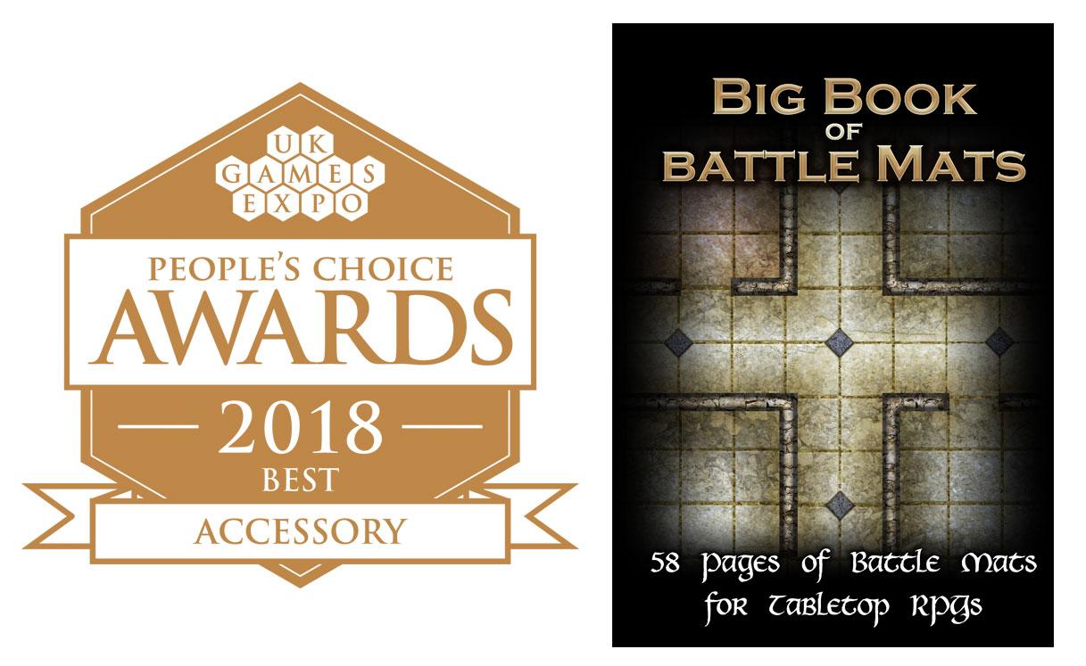 Award Winning Big Book of Battle Mats
